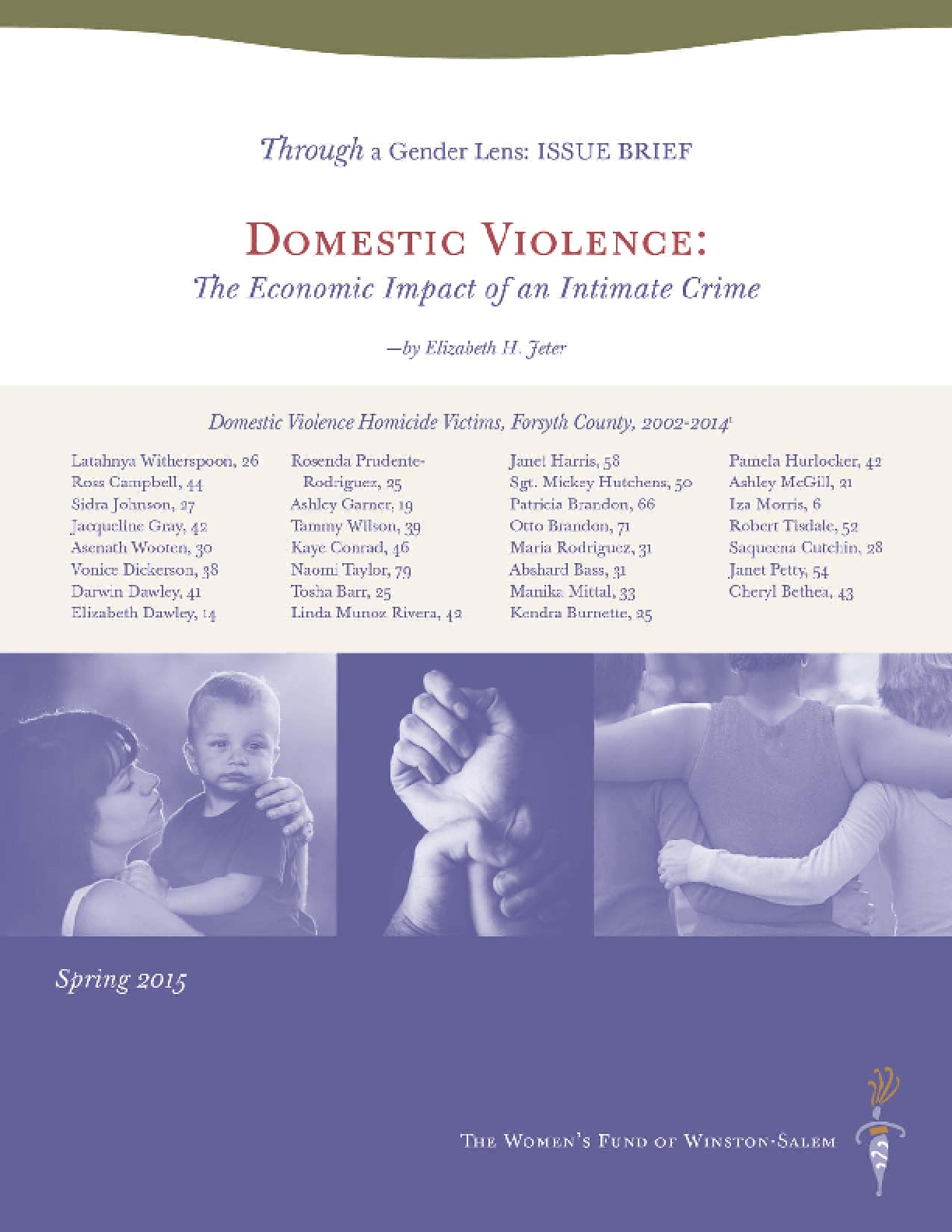 an introduction to the issue of domestic violence Introduction — definition common myths who are the victims children in homes where there is domestic violence are more likely to be abused and/or neglected.